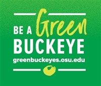Green Buckeye with greenbuckeyes.osu.edu url