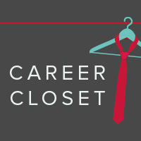 Career Closet (2017) with a drawing of a tie on a hanger