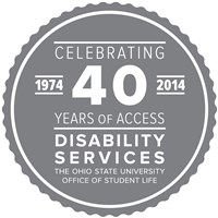 Disability Services 40th anniversary