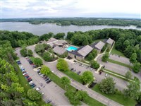 Mohican State Park Lodge aerial photo