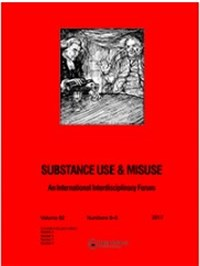 Substance Use and Misuse cover