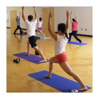 Yoga class with Rec Sports